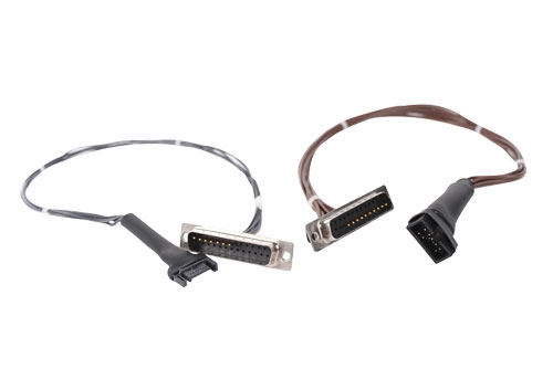 Custom Computer Cables DSub 25 with Discrete Wire