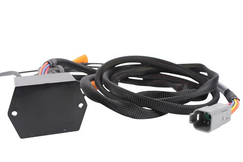 Potted Cable Harness with Tubing and Automotive Waterproof Connectors