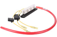Automotive Waterproof Connector Harness with in-line Fuse