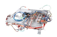 Industrial Oven Wire Harness with Relays on Sheet Metal Assembly