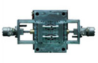 Dual Unscrewing Plastic Injection Mold