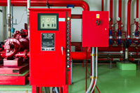 Industrial Controller of Water Sprinkler and Fire Fighting System