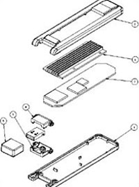 Assembly Drawing of USB Dongle