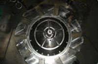 Large Turbine Mold Cavity